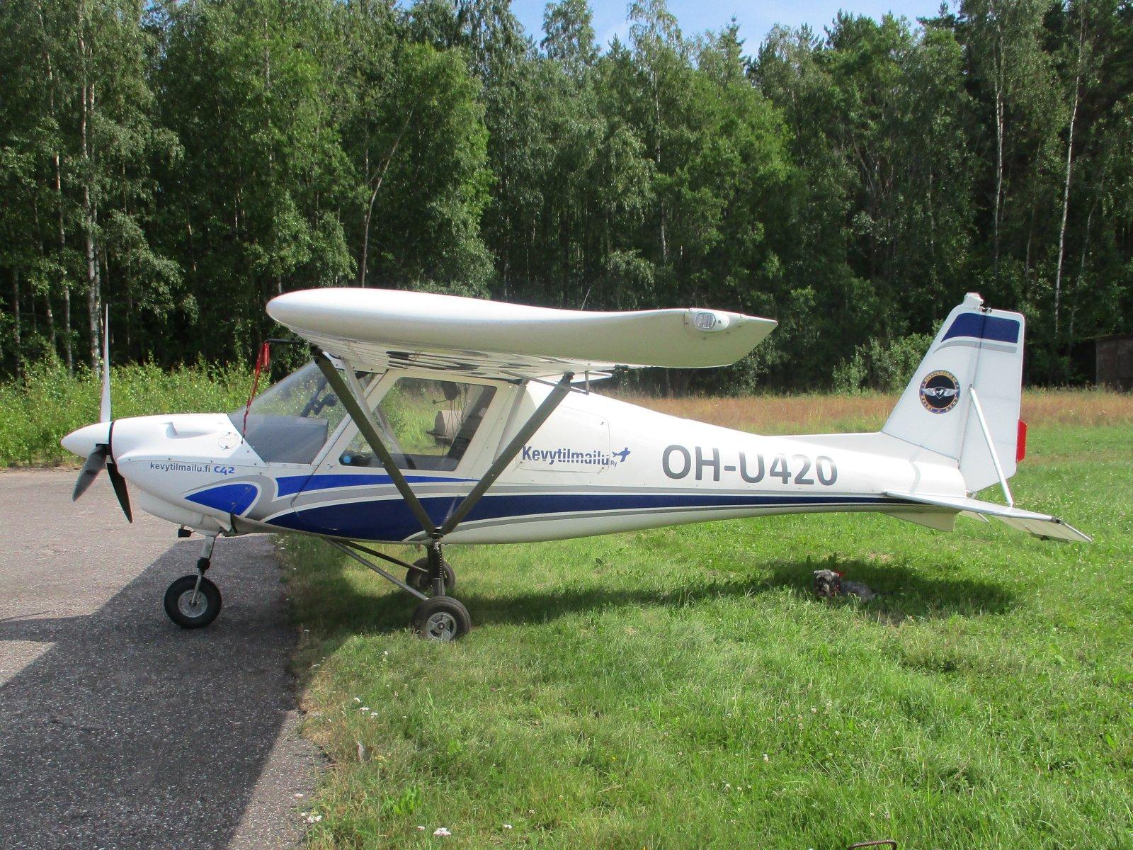 Ikarus C 42B OH-U420 EFHN 2018-07-13