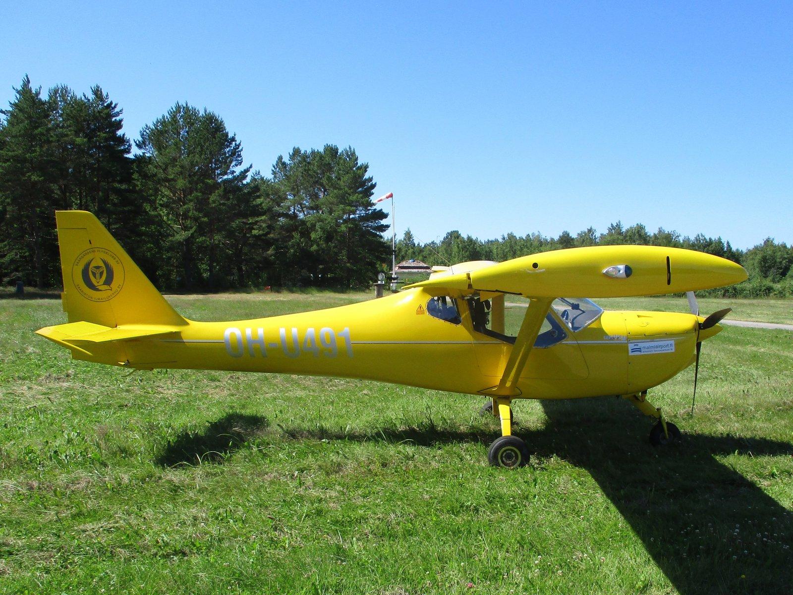B&F Technik FK9 Mark IV OH-U491 EFHN 2018-07-08