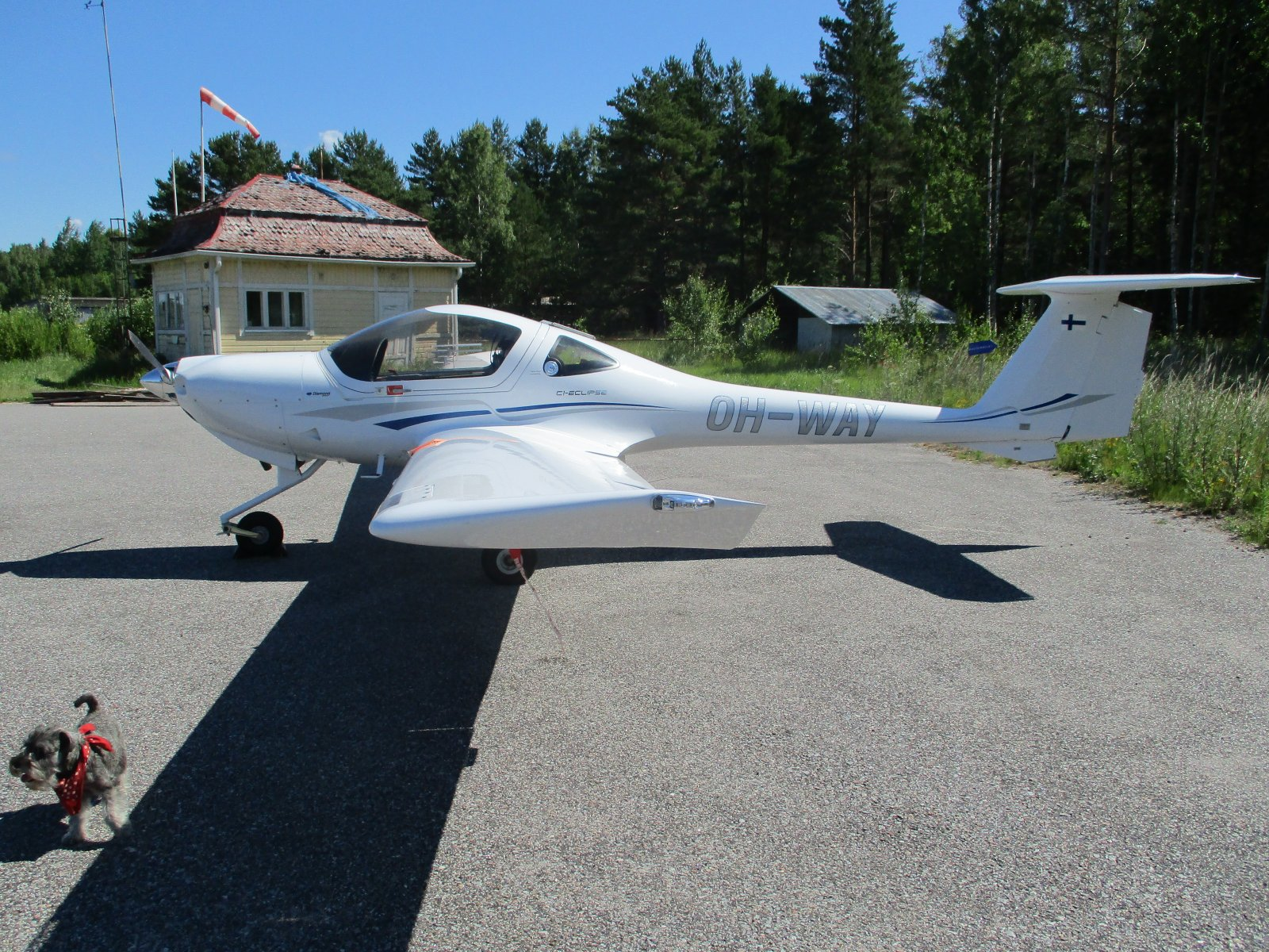 Diamond DA20-C1 Eclipse OH-WAY EFHN 2018-07-08