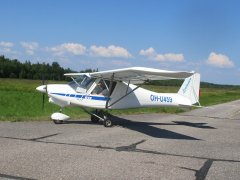 Ikarus C 42 B OH-U459 EFHN 2018-07-17