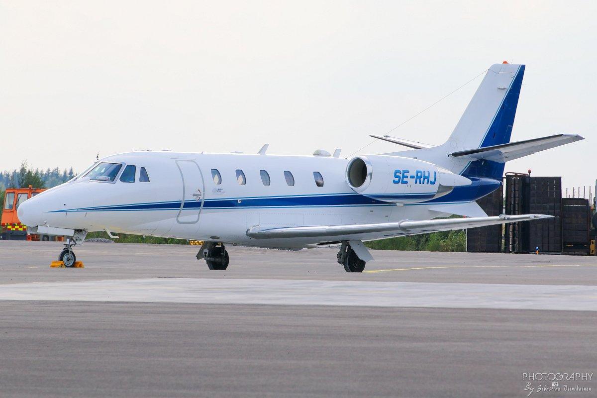 SE-RHJ Cessna 560XL Citation Excel, 17.8.2018