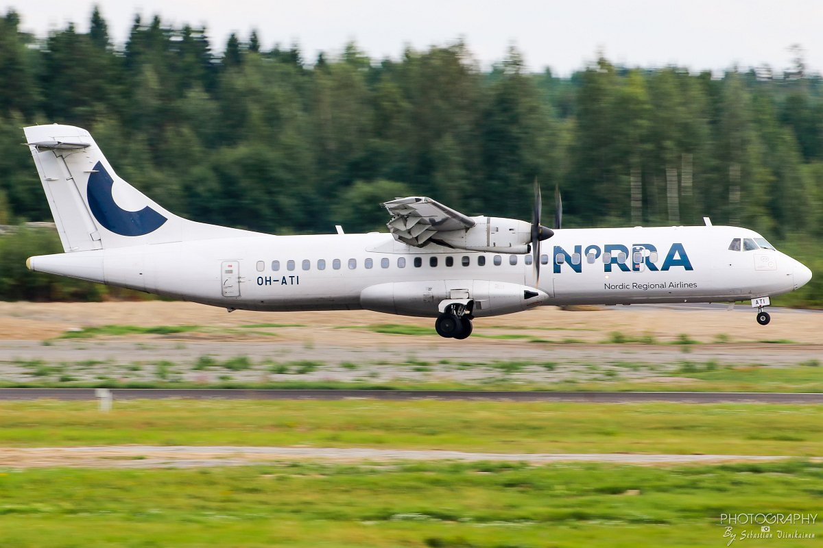 OH-ATI Norra ATR 72-500, 17.8.2018
