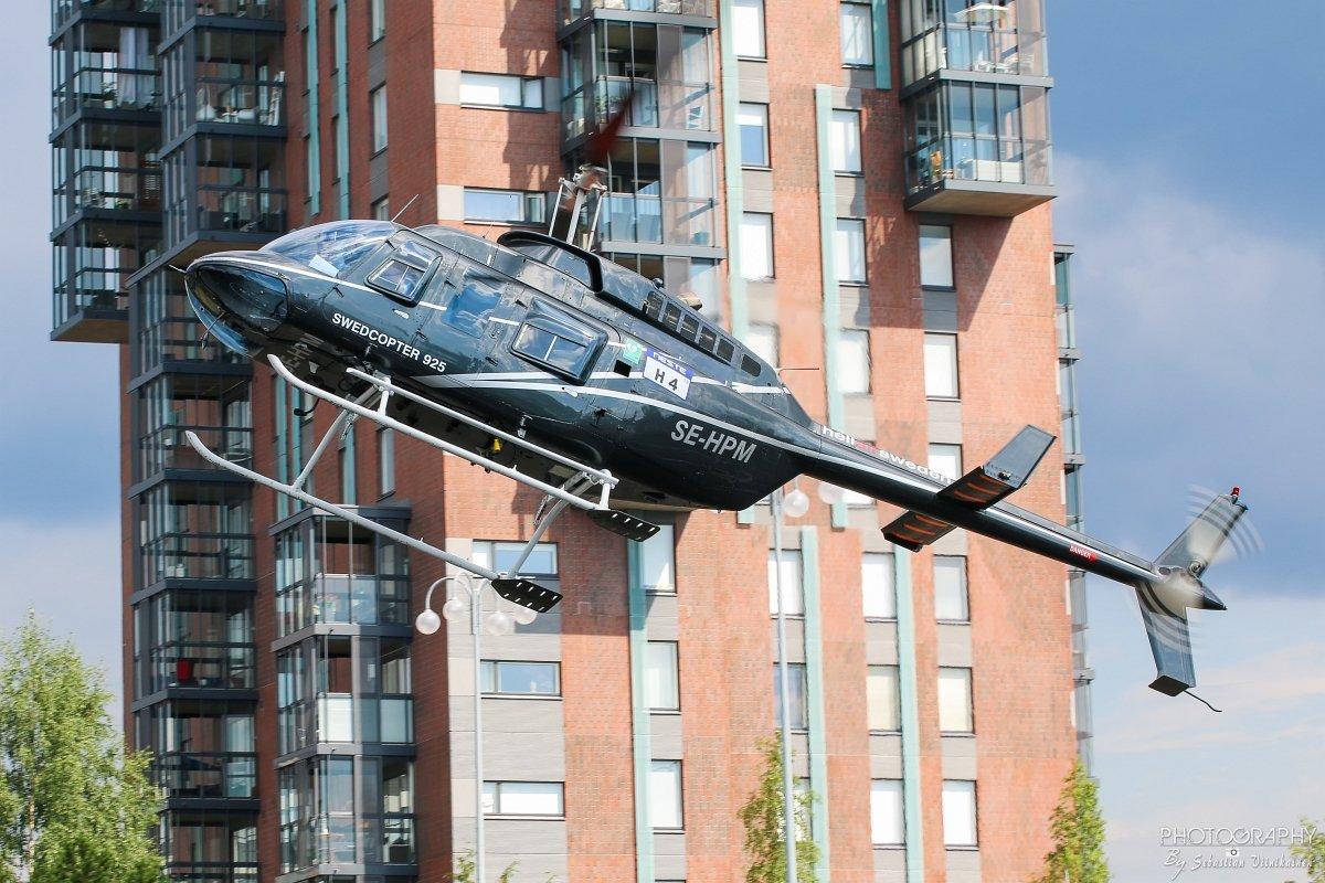 SE-HPM HeliAir Sweden Bell 206L-1 LongRanger II