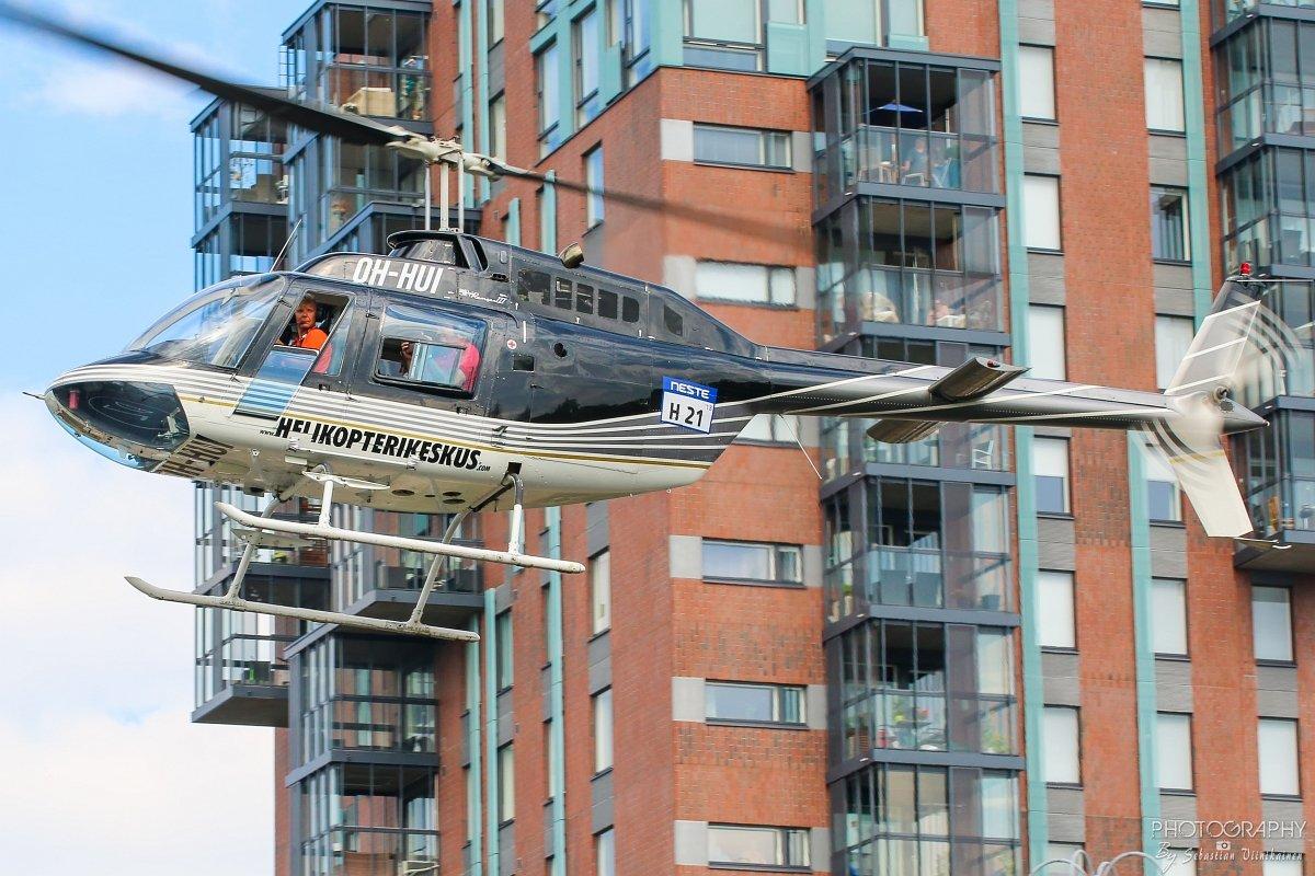 OH-HUI Helikopterikeskus Bell 206B JetRanger II