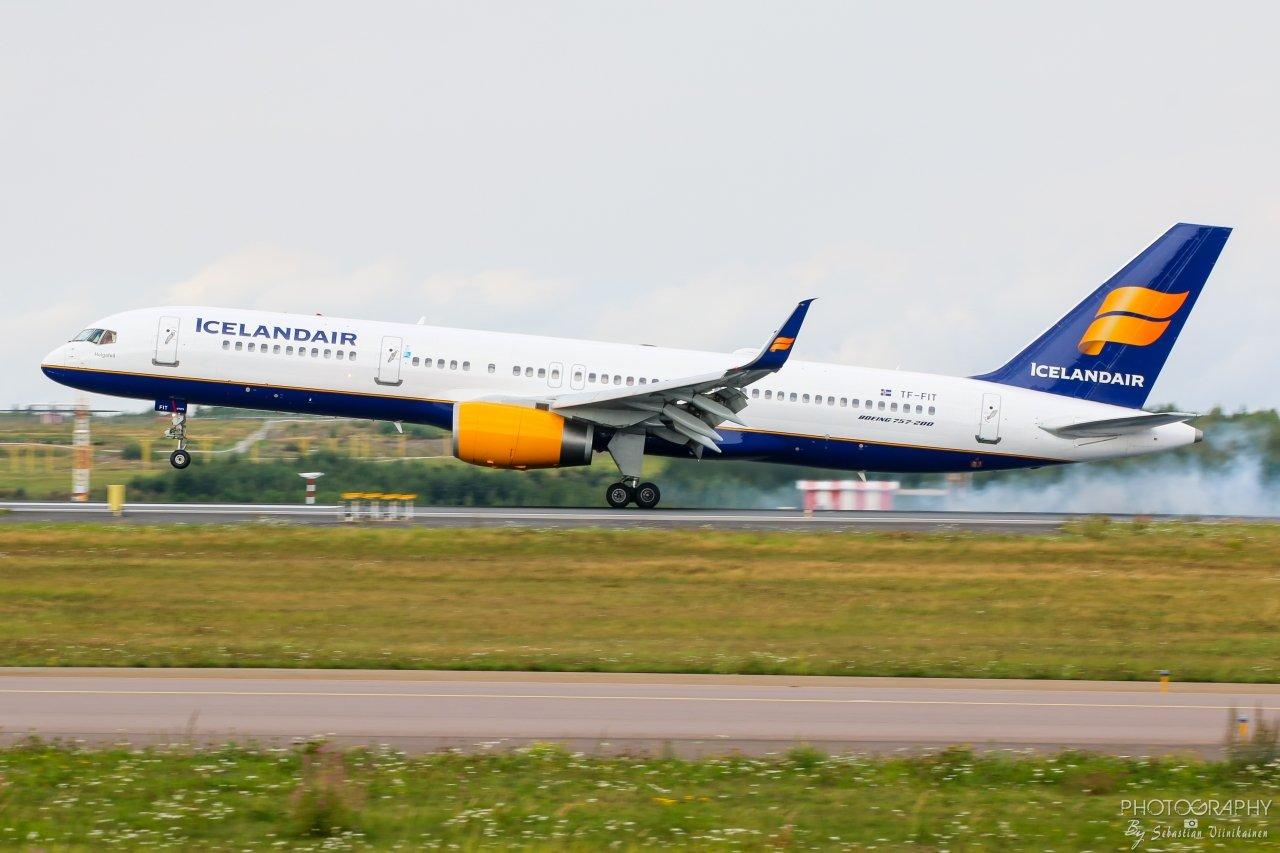 TF-FIT Icelandair B757-200, 18.8.2018