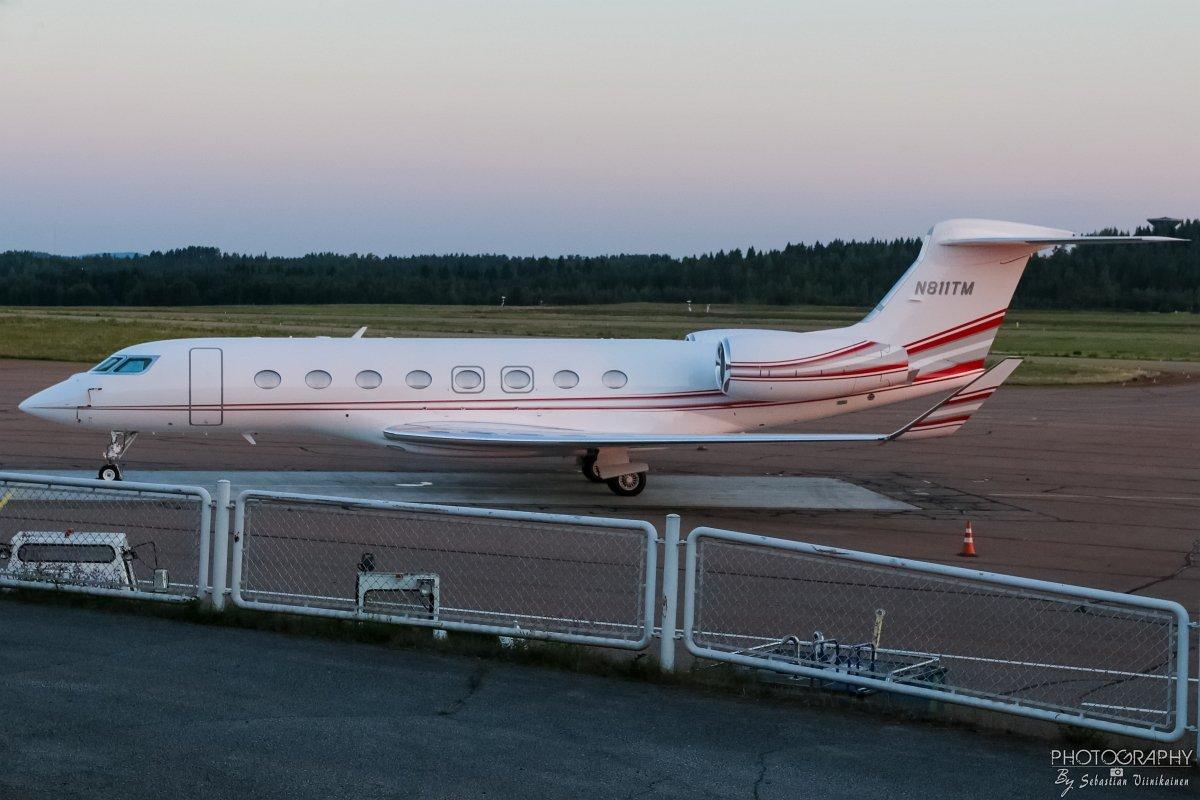 N811TM Gulfstream G650ER