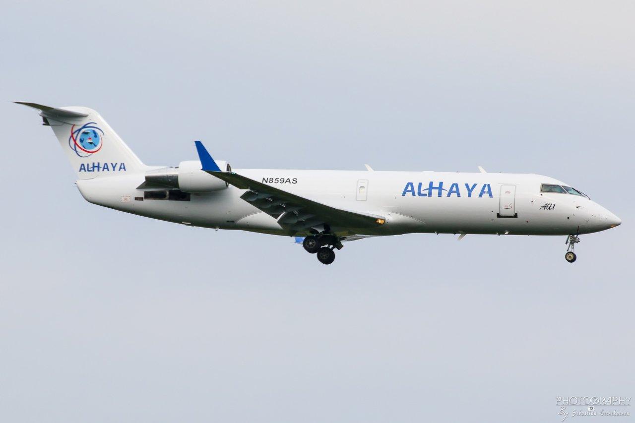 N859AS Alhaya Canadair CL-600-2B19(F)  18.8.2018