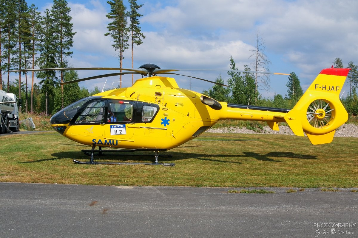 F-HJAF SAF Hélicoptères Eurocopter EC135 T1