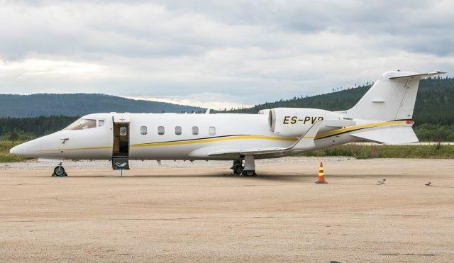 ES-PVP. Learjet 60. 7.8.2018