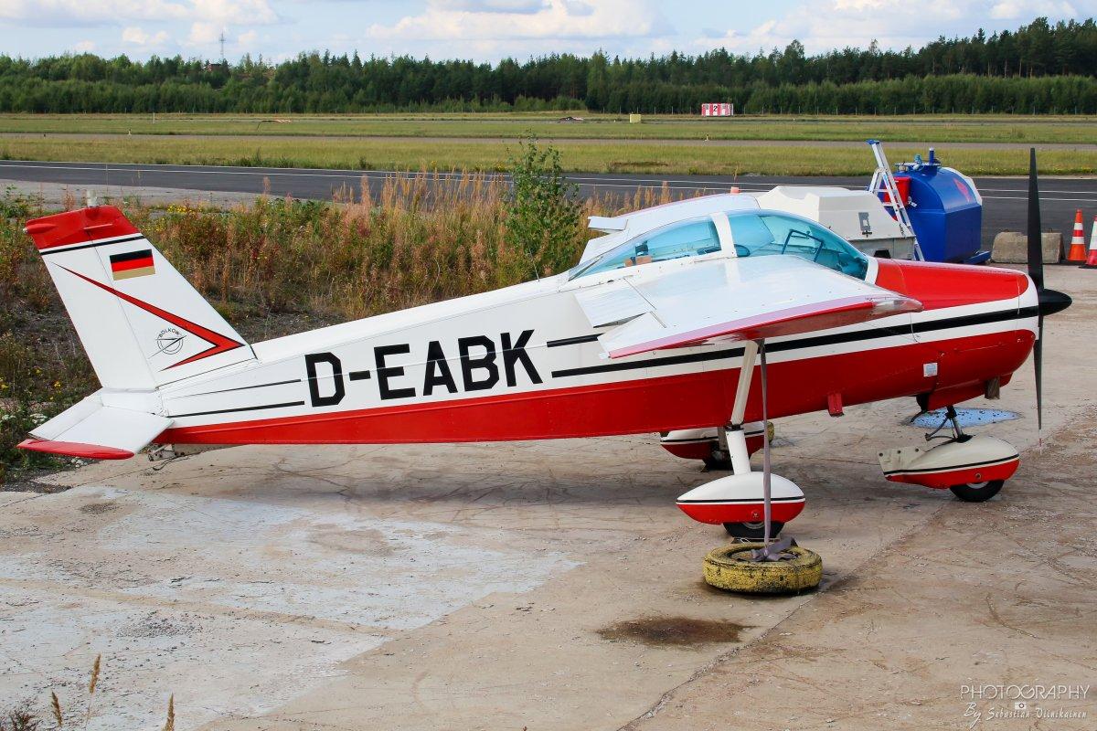 D-EABK Bölkow Bo 208C Junior, 02.09.2018