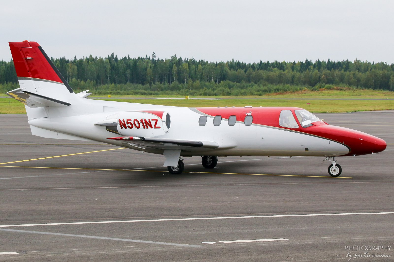 N501NZ Cessna 501 Citation ISP, 05.09.2018