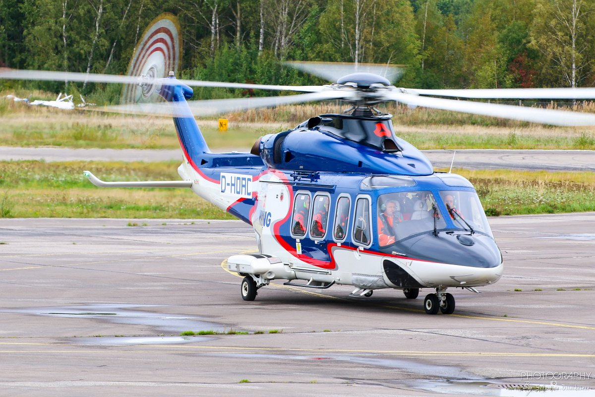 D-HOAC Wiking Helikopter Service AgustaWestland AW139
