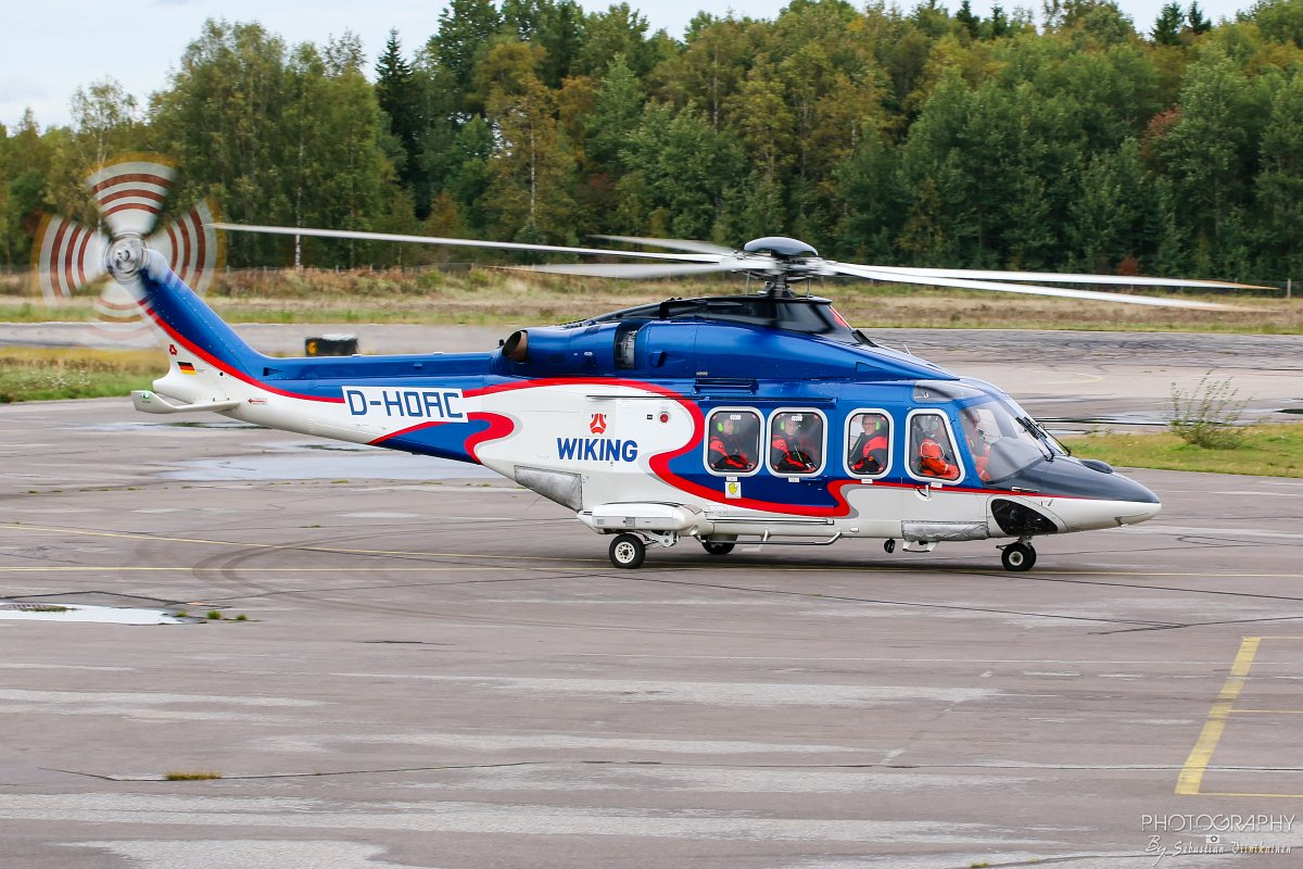 D-HOAC AgustaWestland AW139 18.09.2018