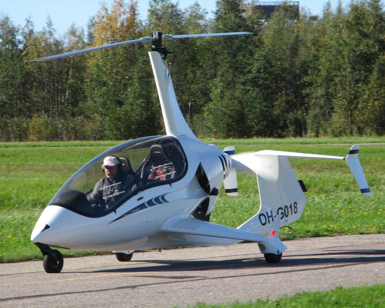 Arrowcopter AC20 OH-G018 EFHN 2018-09-16