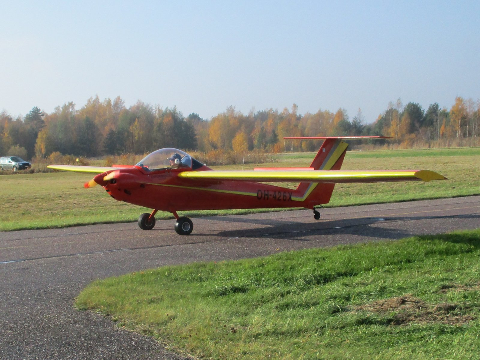 Pilatus B4-PC11 Mod OH-426X EFHN 2018-10-14