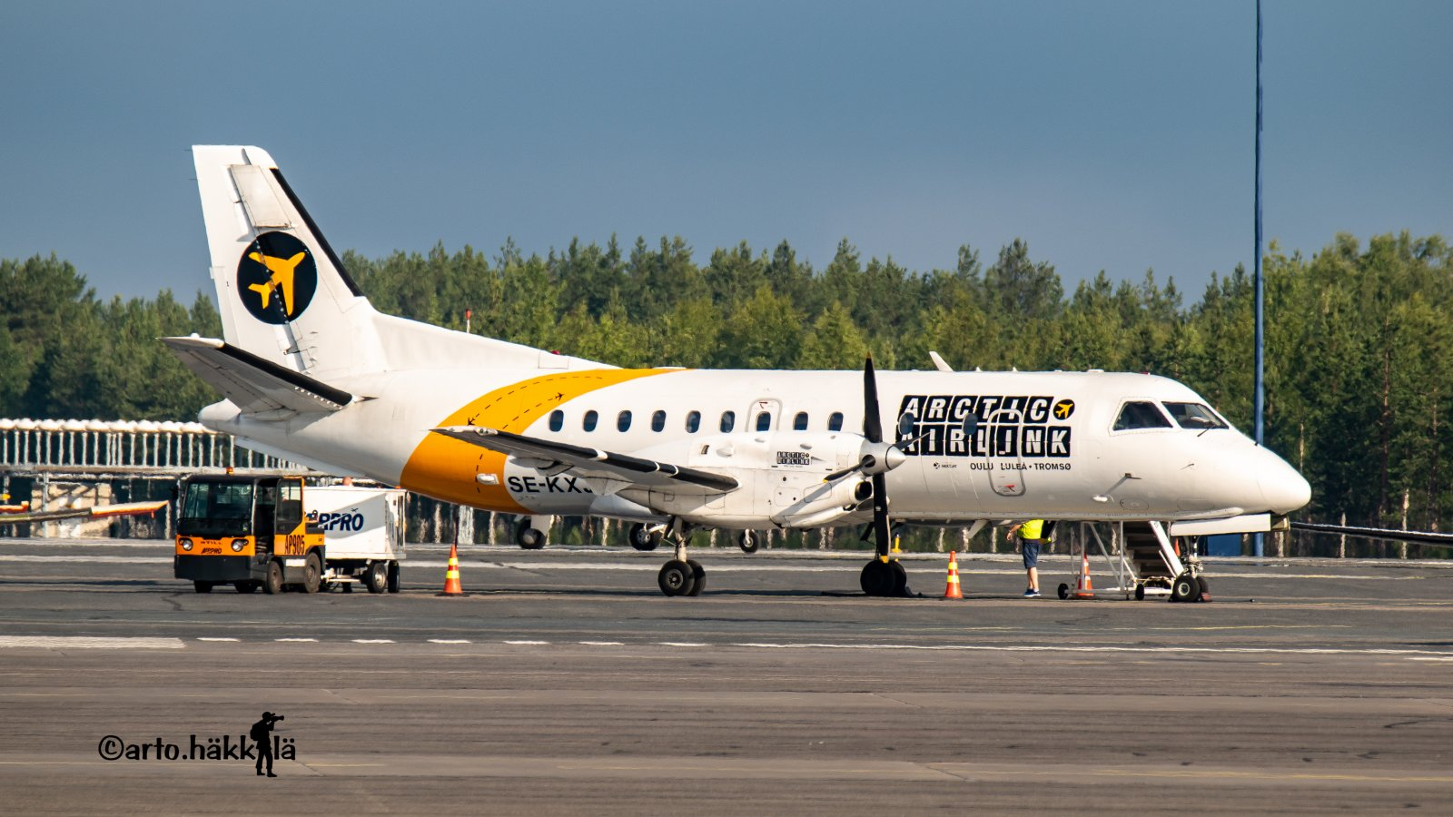 Saab 340 - MSN 189 - SE-KXJ  Last Airline Nextjet Oulussa