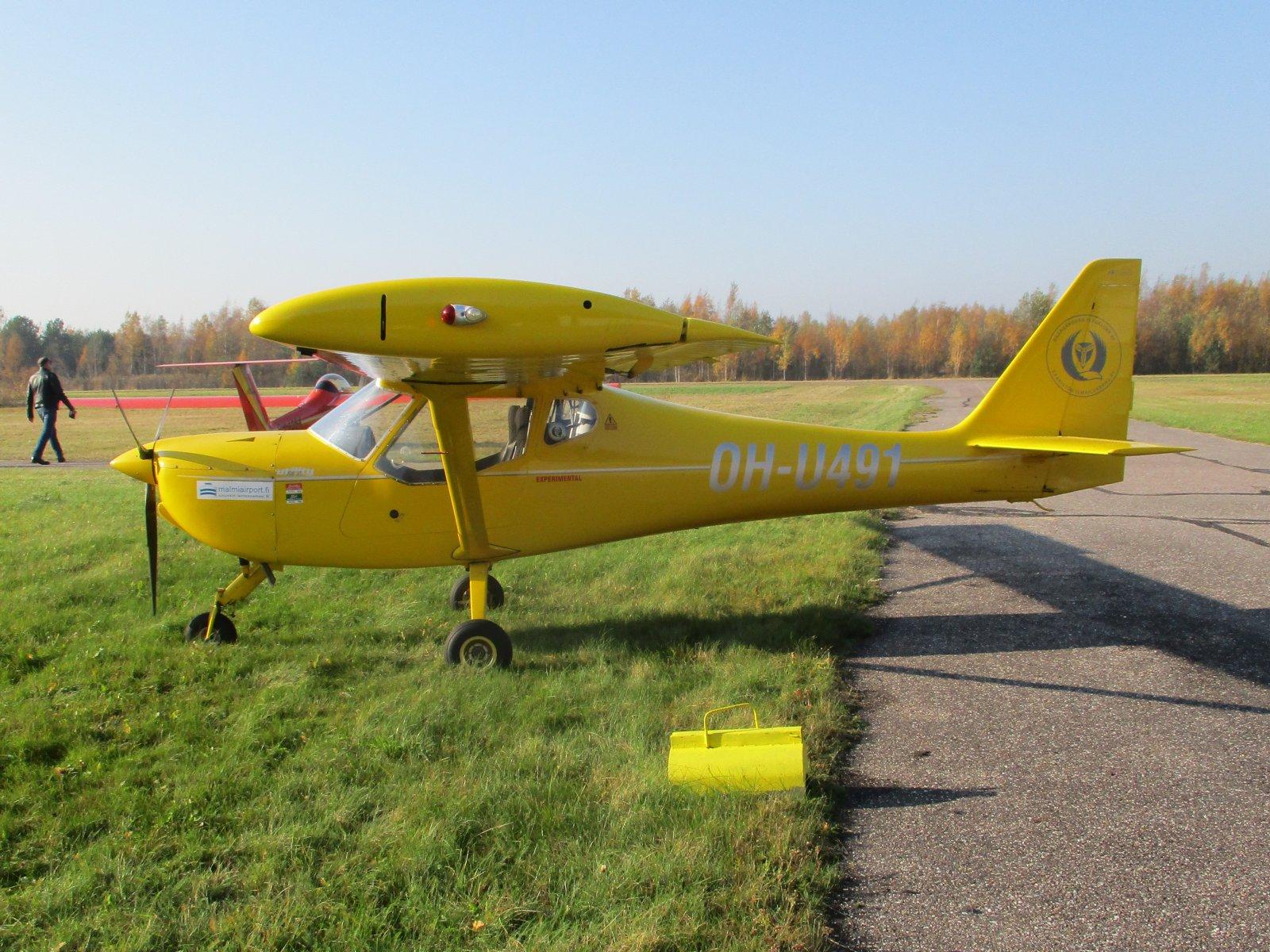B&F Technik FK9 Mark IV OH-U491 EFHN 2018-10-14