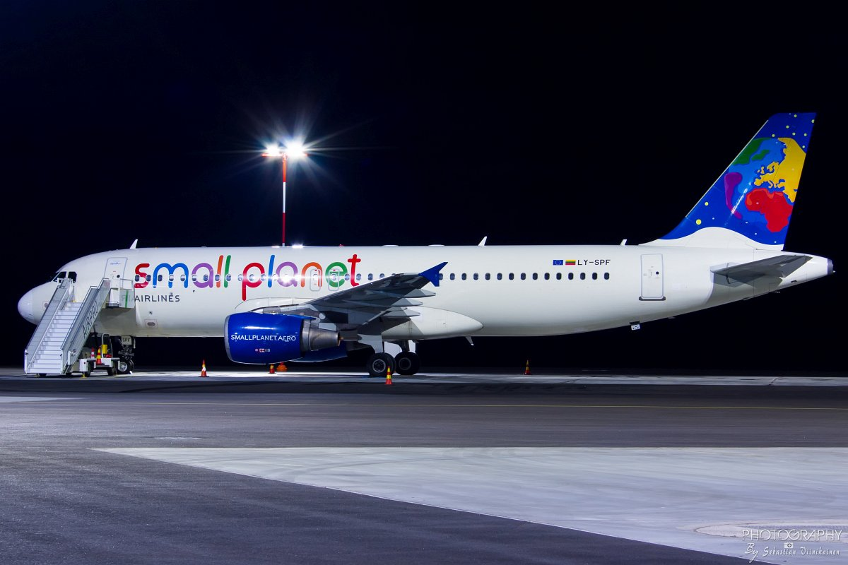 LY-SPF Small Planet Airlines A320-200, 03.10.2018