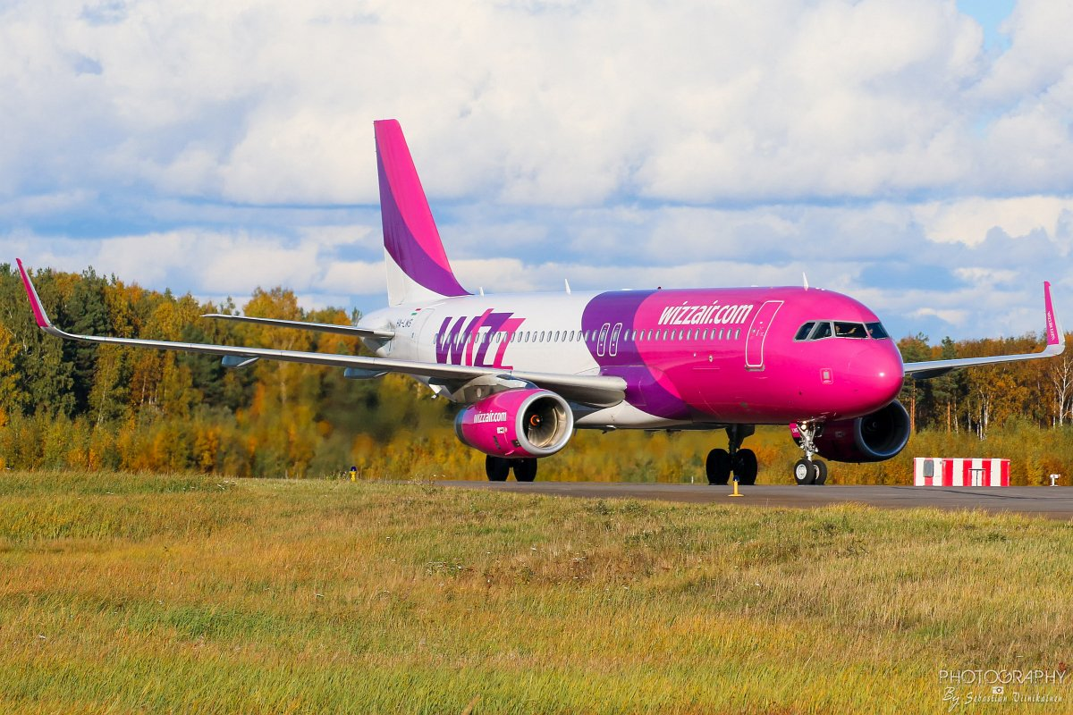 HA-LWS Wizz Air  A320-200, 07.10.2018