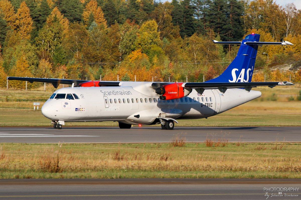 G-FBXC SAS ATR 72-600, 07.10.2018