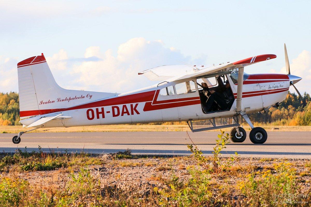 OH-DAK Cessna A185F Skywagon, 07.10.2018