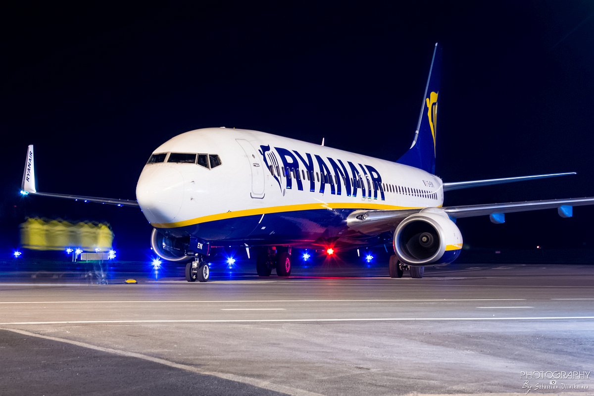 EI-EVK Ryanair B737-800, 15.10.2018