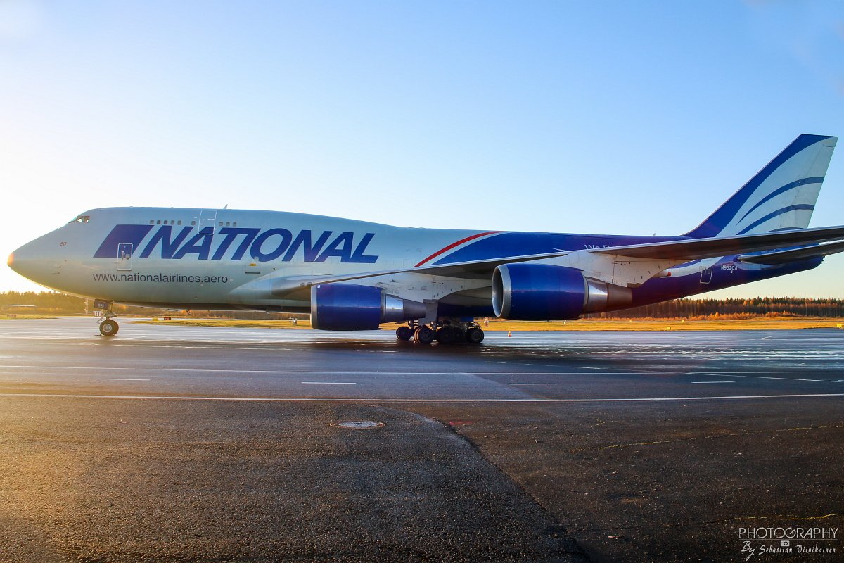 N952CA National Airlines B747-400F, 19.10.2018