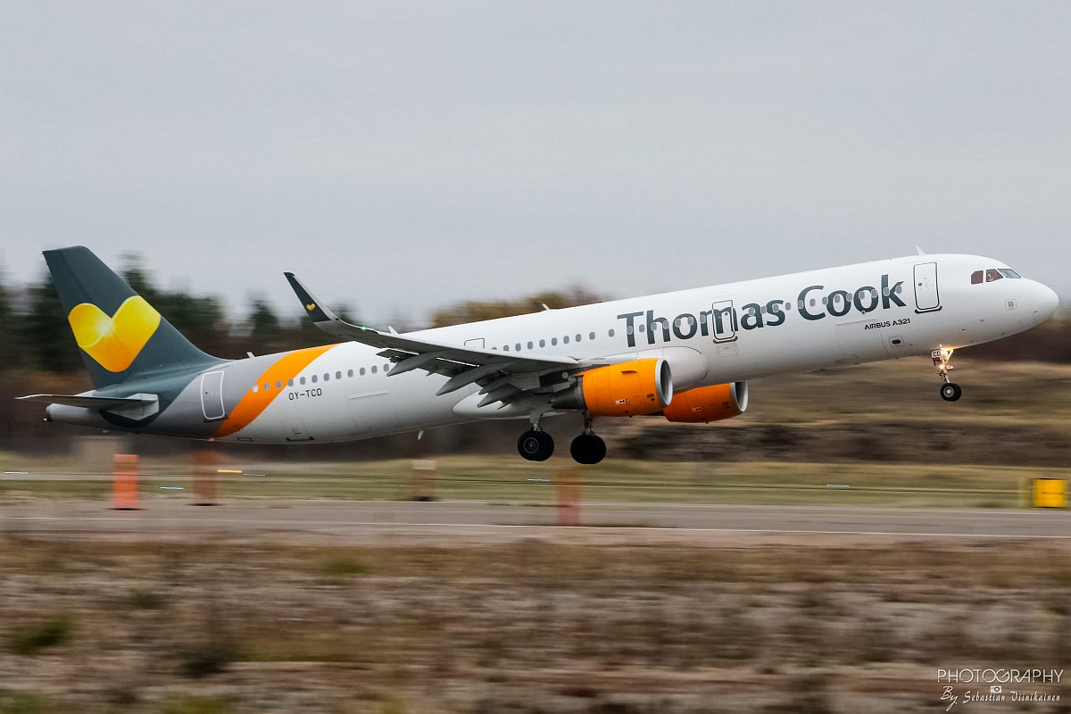 OY-TCD Thomas Cook Airlines Scandinavia A321-200