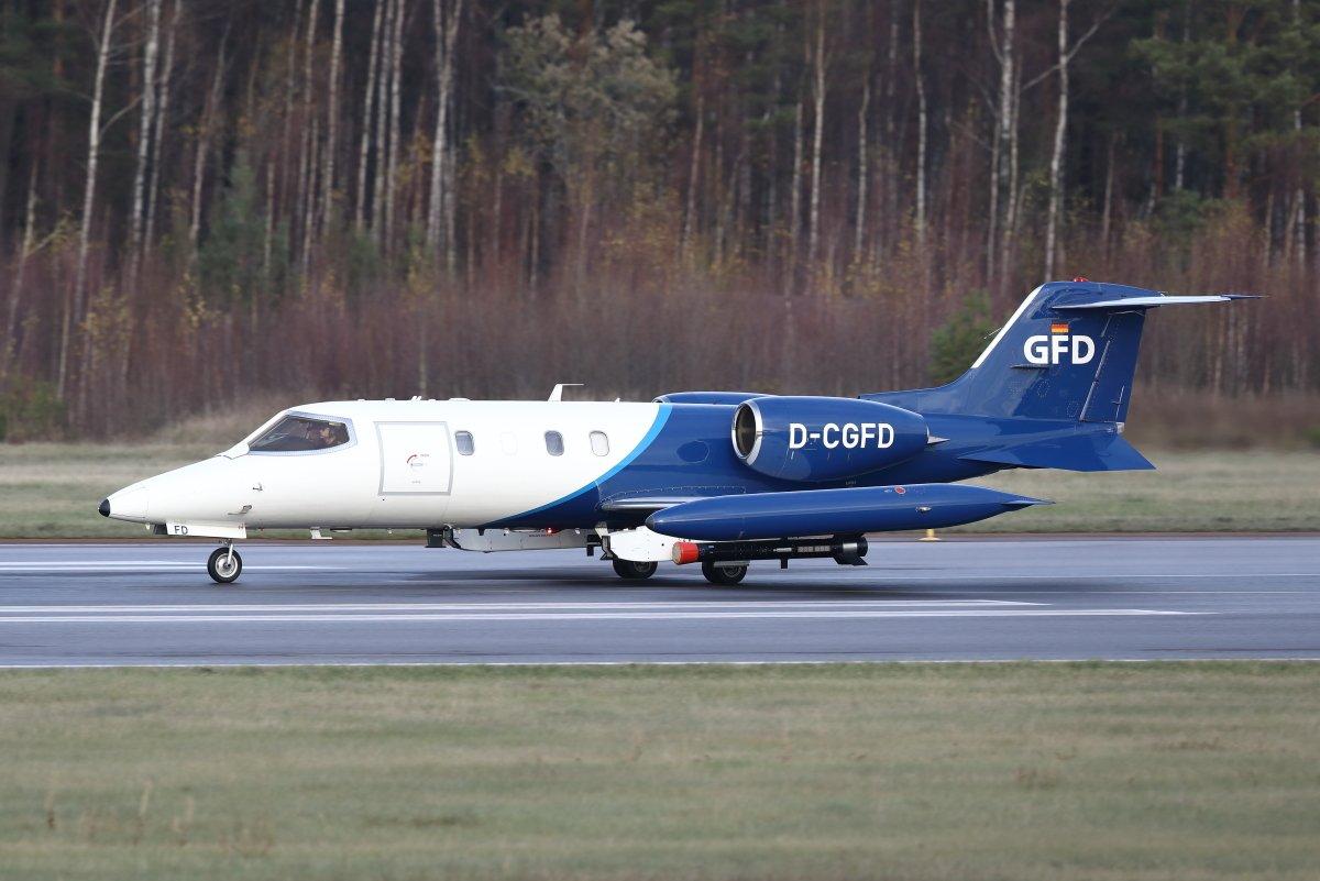 Learjet 35 D-CGFD tänään