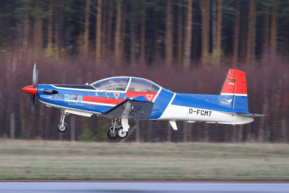 Pilatus PC-9 D-FCMT tänään