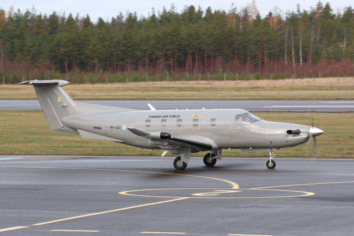 Pilatus PC-12NG PI-03 tänään