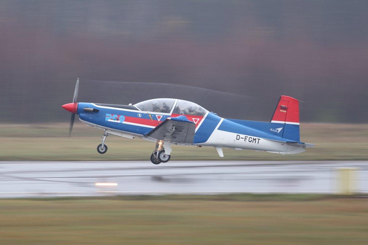 Pilatus PC-9 D-FGMT Turku 8.11.