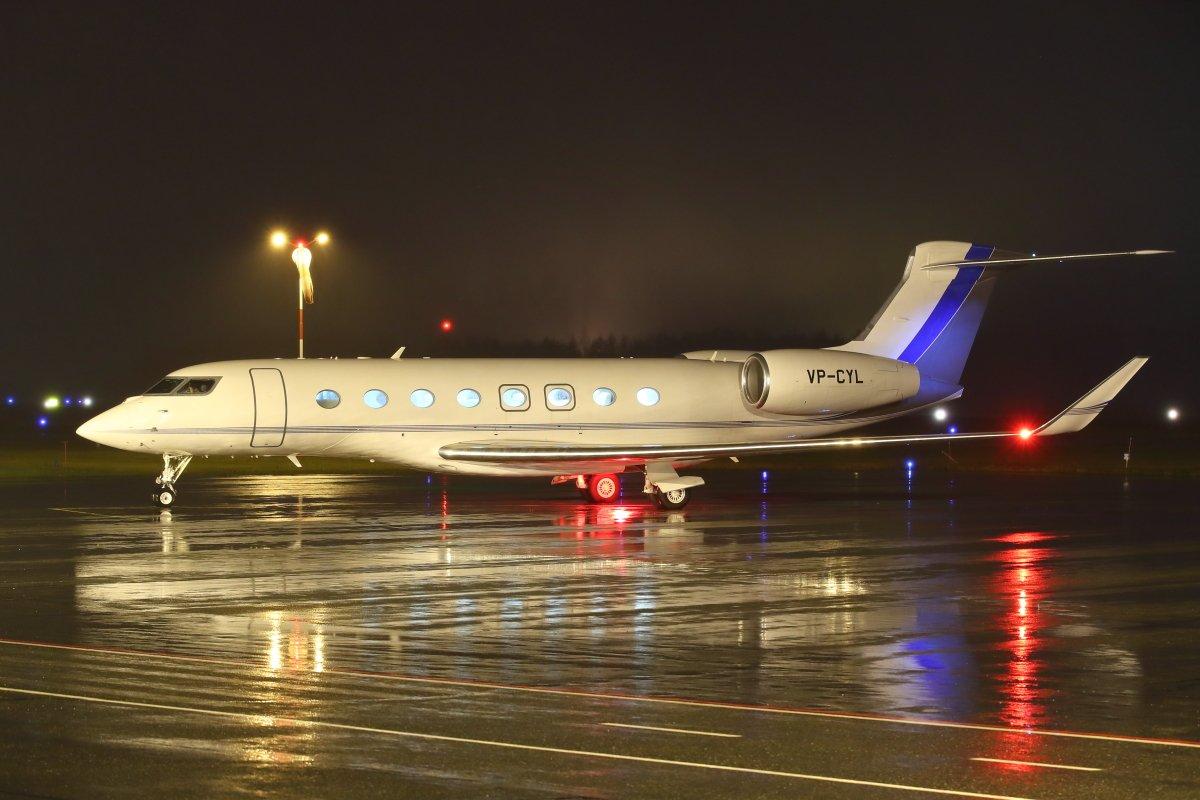 VP-CYL Gulfstream G650 Pori 12.11.
