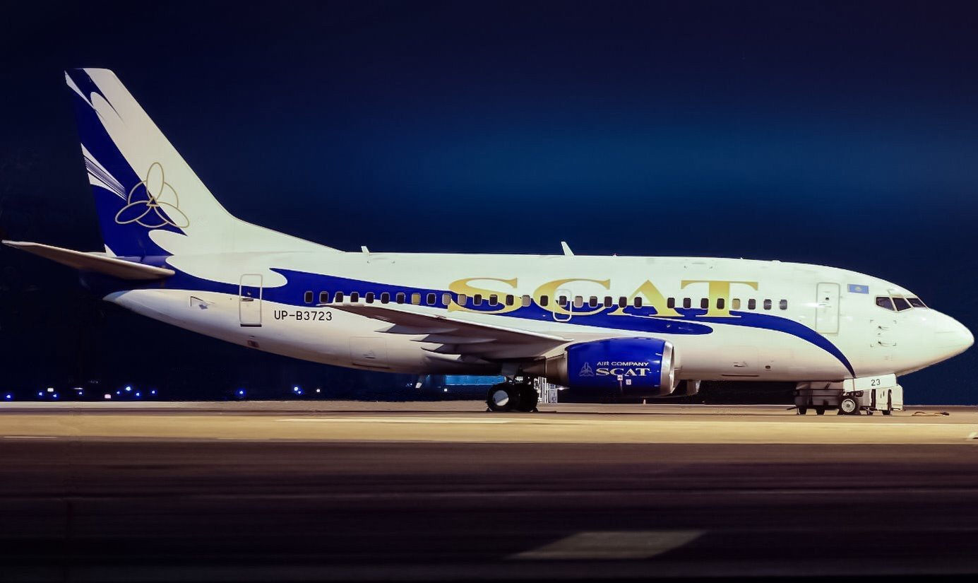 Scat Airlines B737-500 UP-B3723