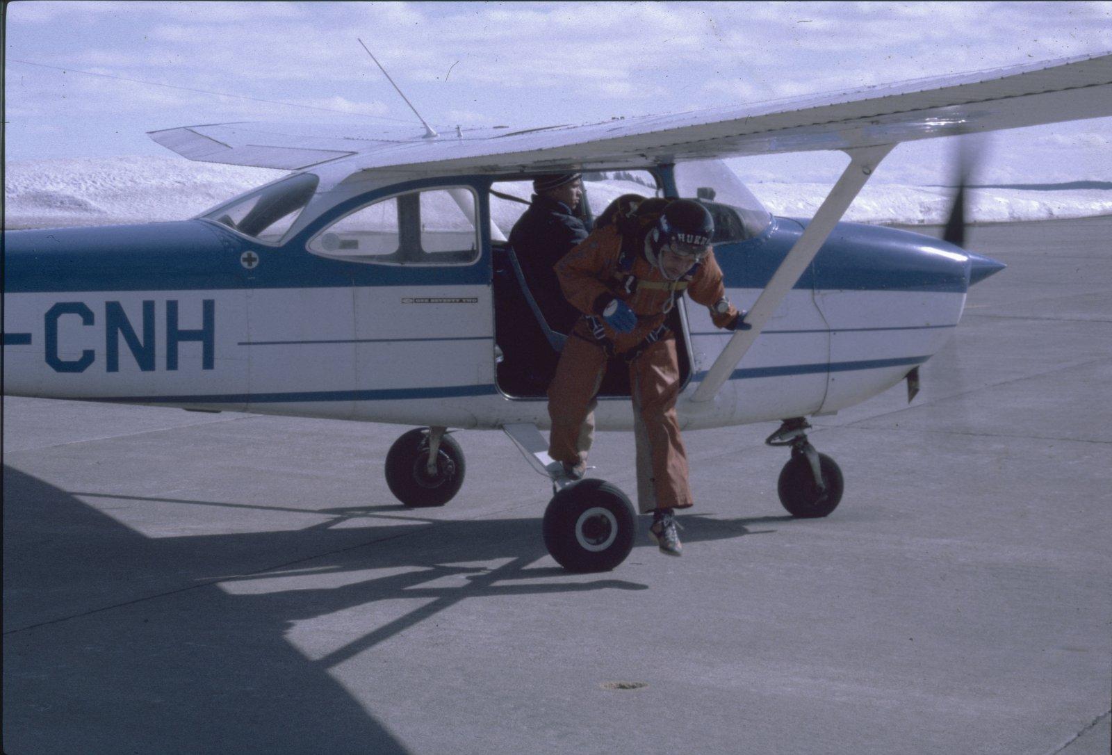 Cessna F172H OH-CNH EFKU 1981-04-17