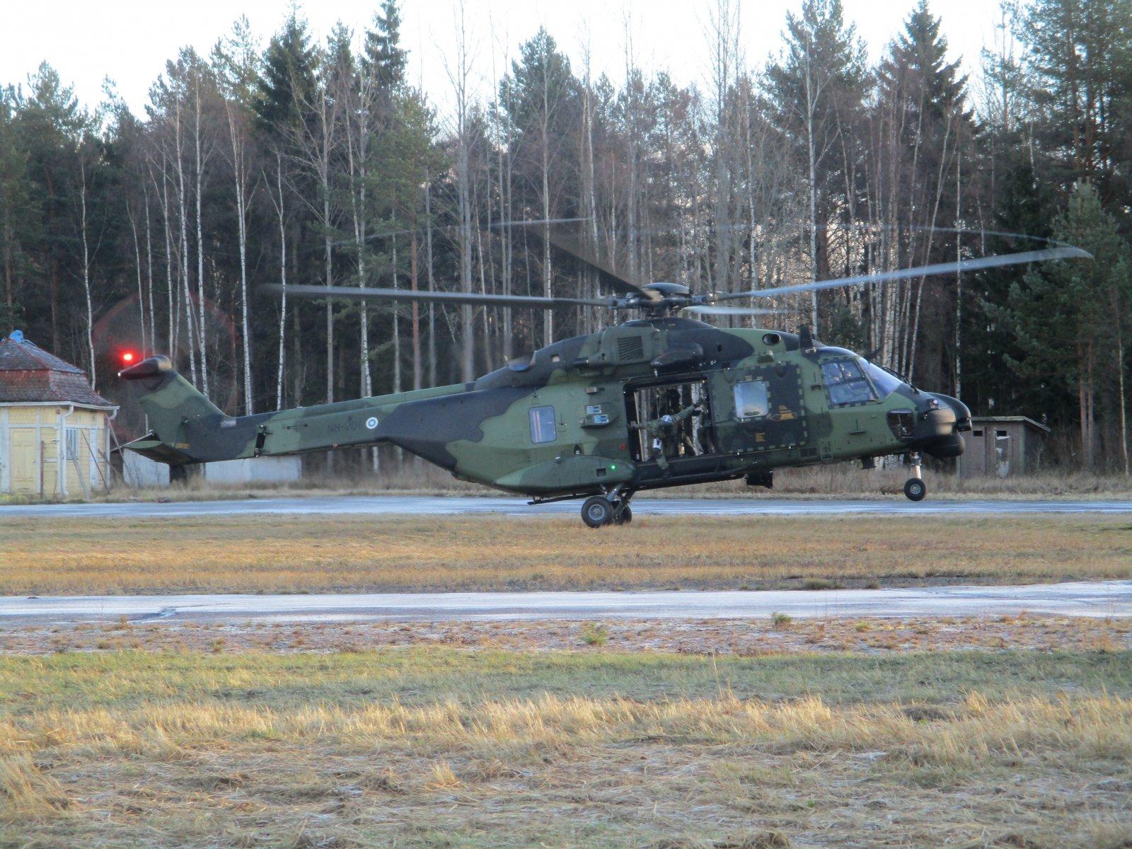 NHIndustries NH90 NH-206 EFHN 2018-11-26