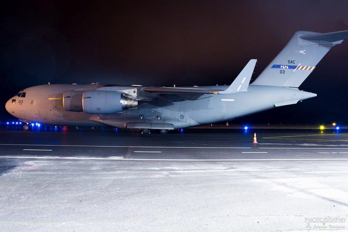 08-0003 NATO - Strategic Airlift Capability Boeing C-17A Globemaster III