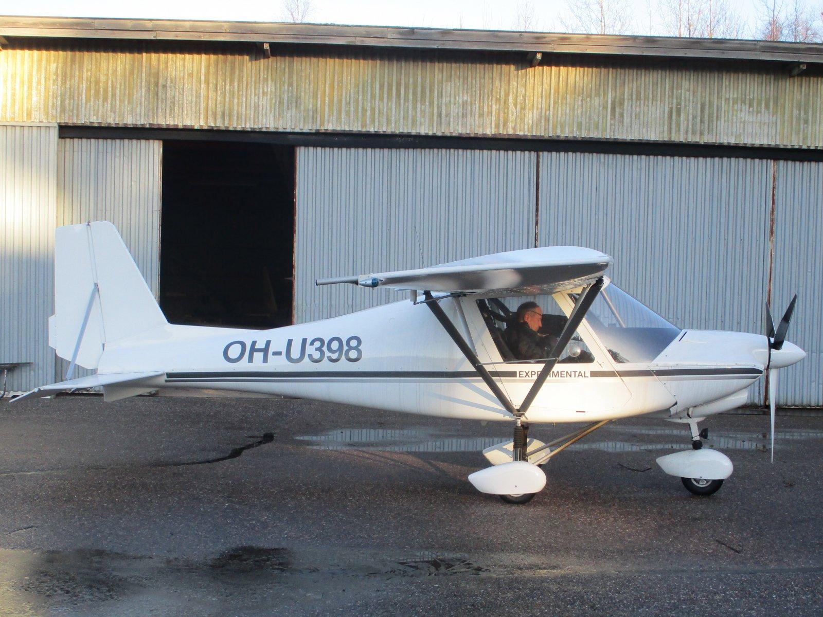 Ikarus C42 Mod OH-U398 EFHN 2018-11-24