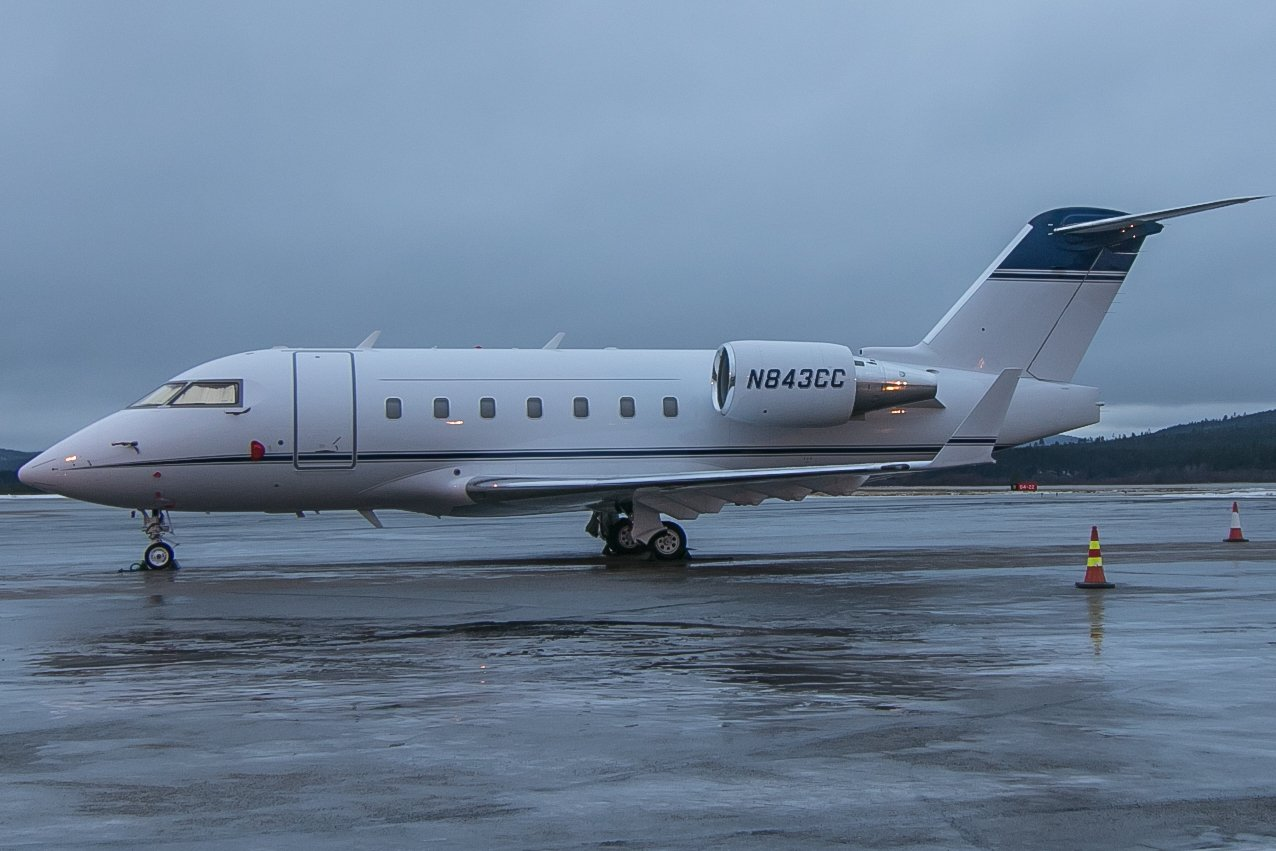 N843CC. Bombardier CL-600.2B16. 6.11.2018