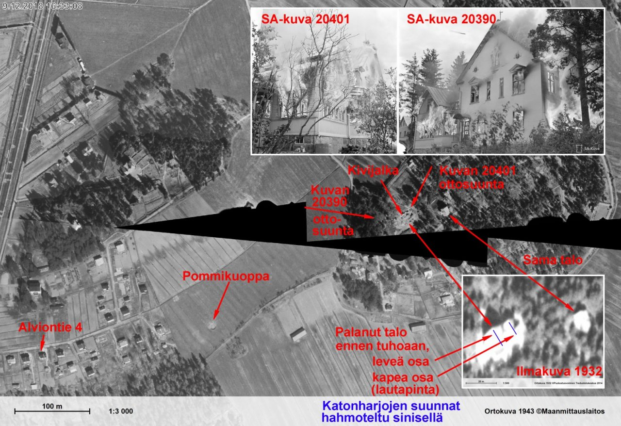 Puistolassa 25.06.1941 palanut talo - Koostekuva.jpg