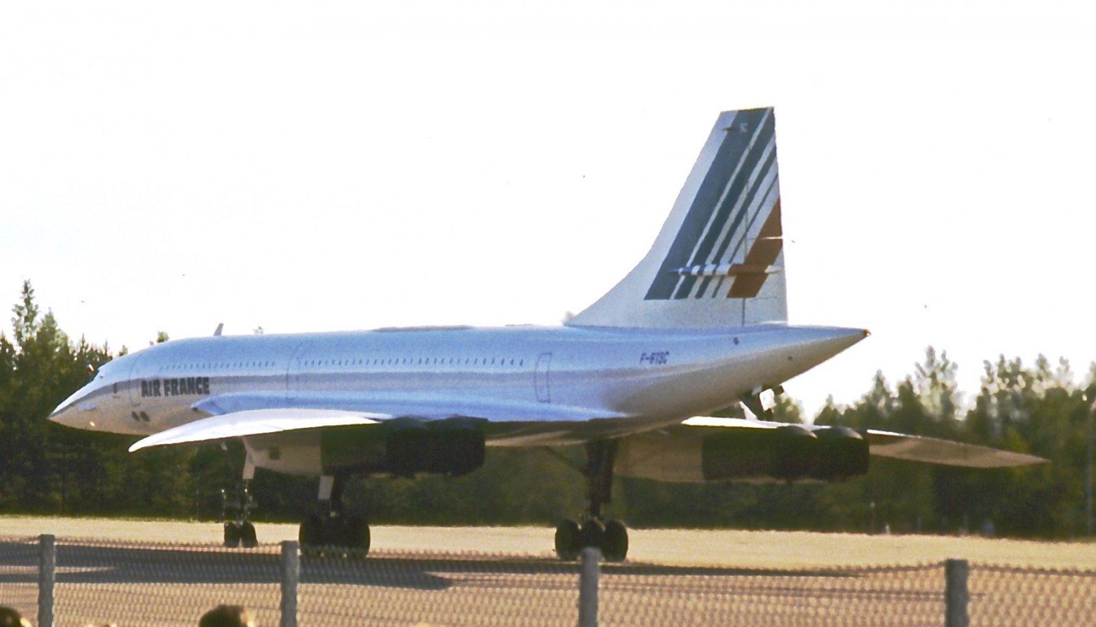 BAC/Aérospatiale Concorde 101 F-BTSC EFTU 1987-07-02