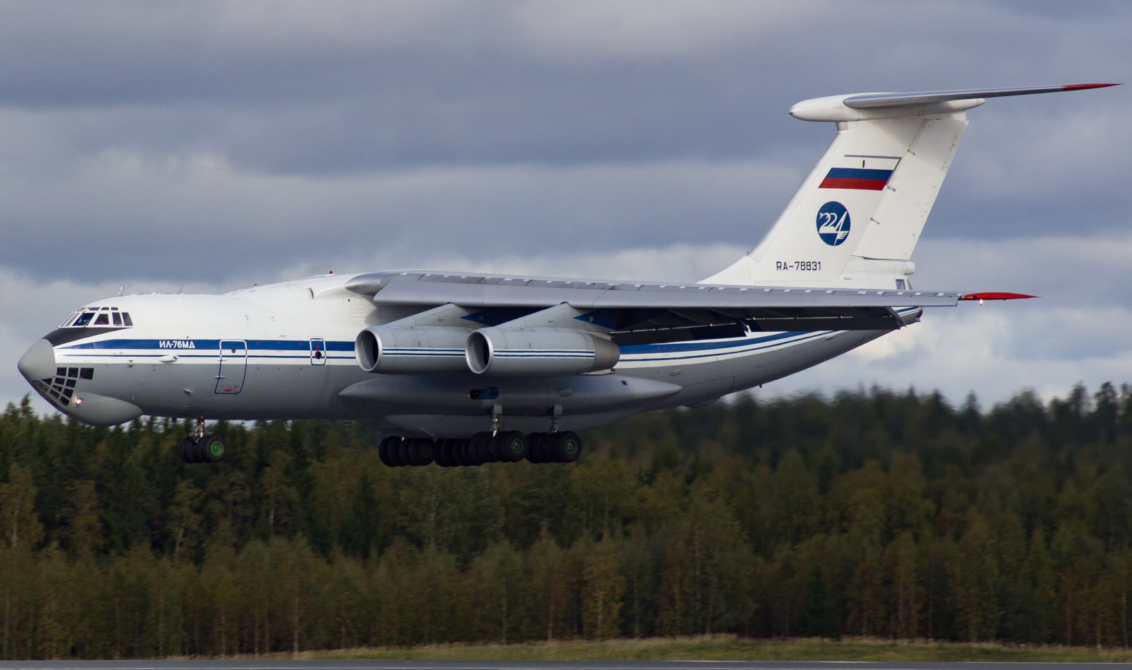 Ilyushin 76-MD RA-78831