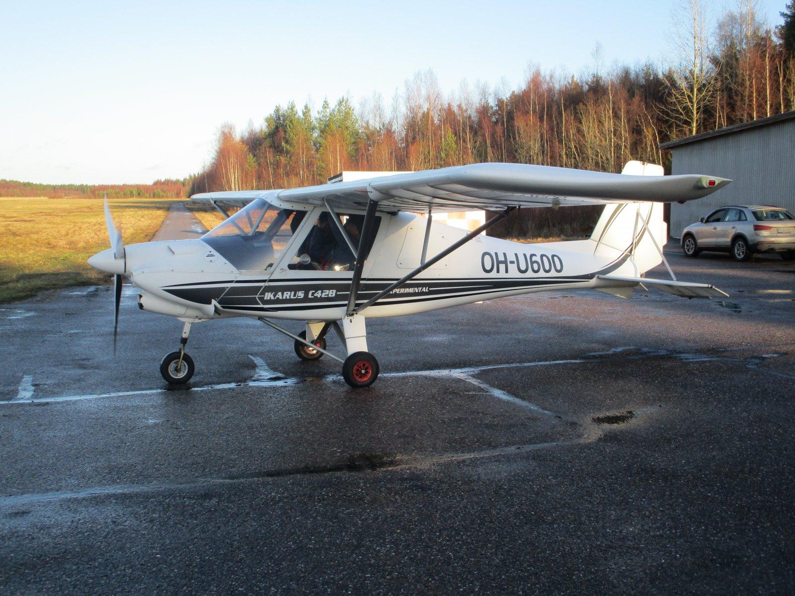 Ikarus C 42 B OH-U600 EFHN 2018-11-24