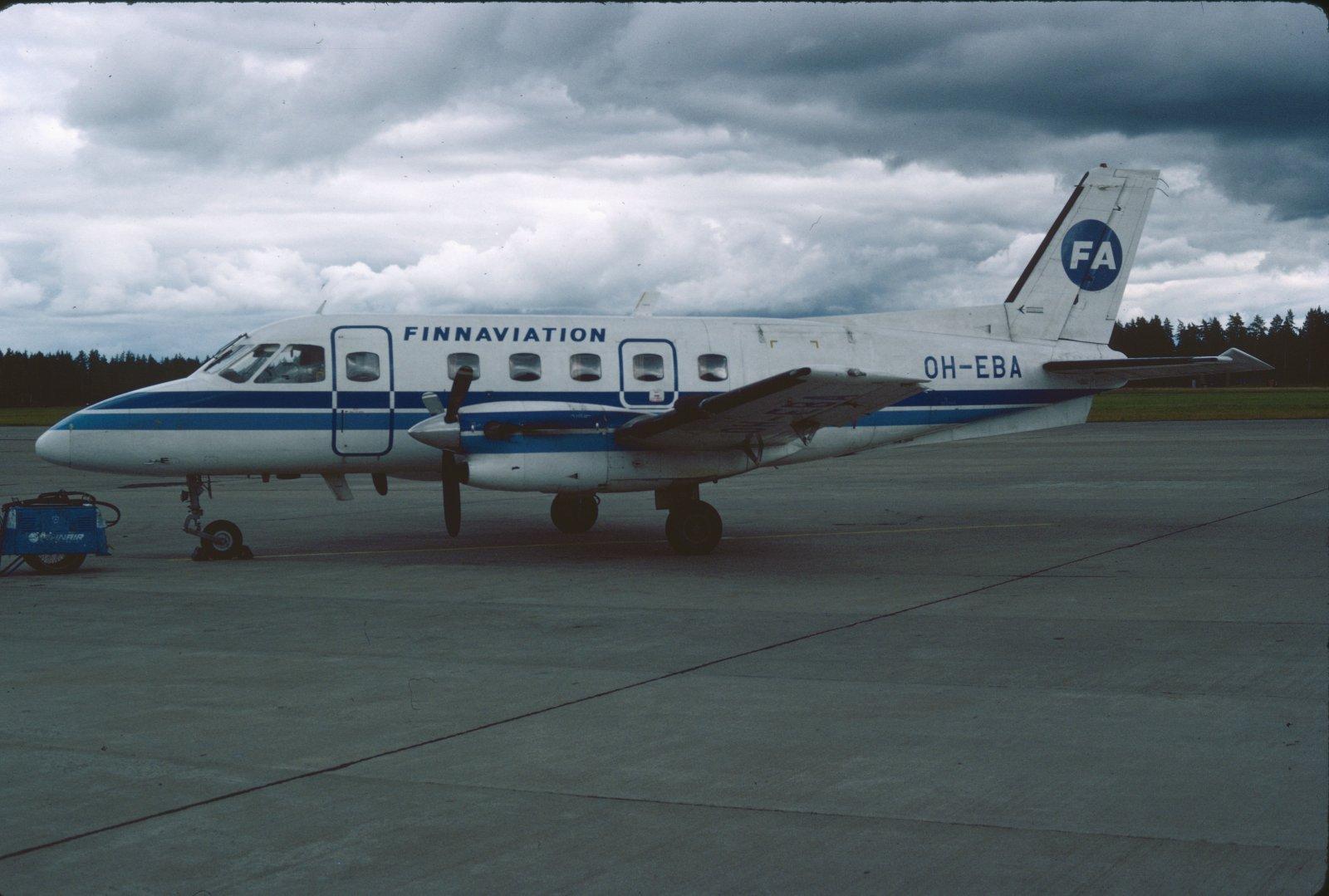 Embraer EMB-110 P.1 Bandeirante OH-EBA EFKU 1983