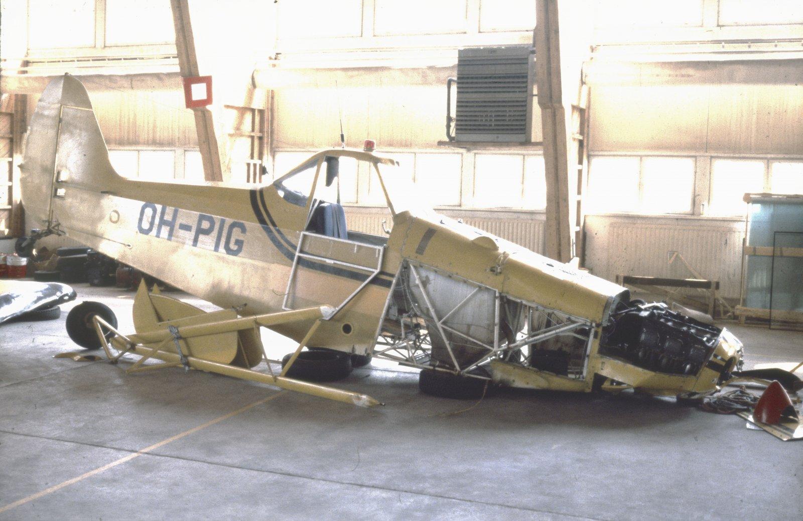 Piper PA-25-235 Pawnee B OH-PIG EFKU 1979