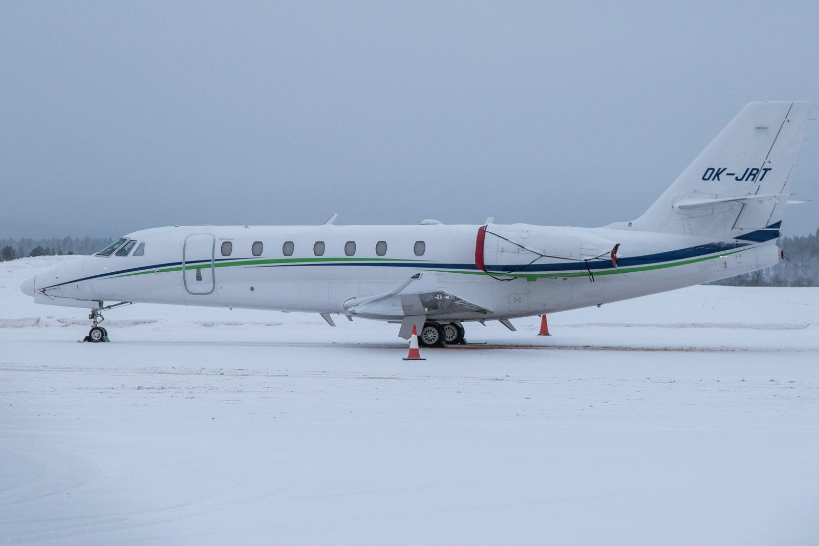 OK-JRT. Cessna 680 Citation Sovereign Plus. 24.12.2018
