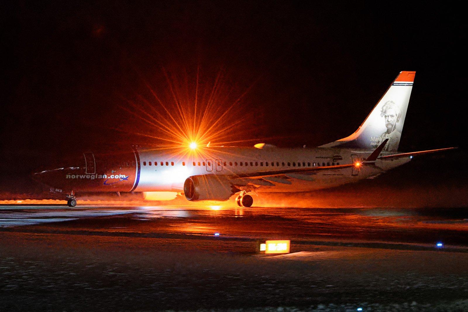 Ensimmäinen Norwegianin Boeing 737 MAX 8 Pohjanmaalla (ilmeisesti muutenkin)