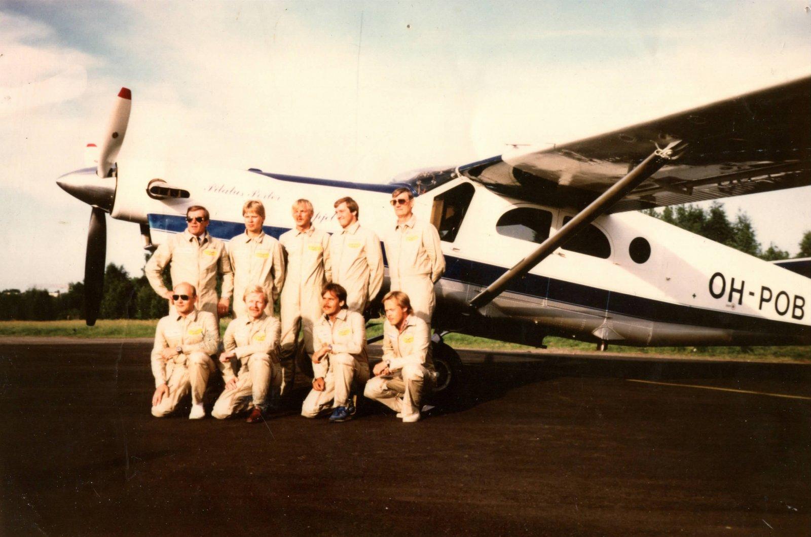 Pilatus PC-6/B1-H2 Porter OH-POB EFHF 1980