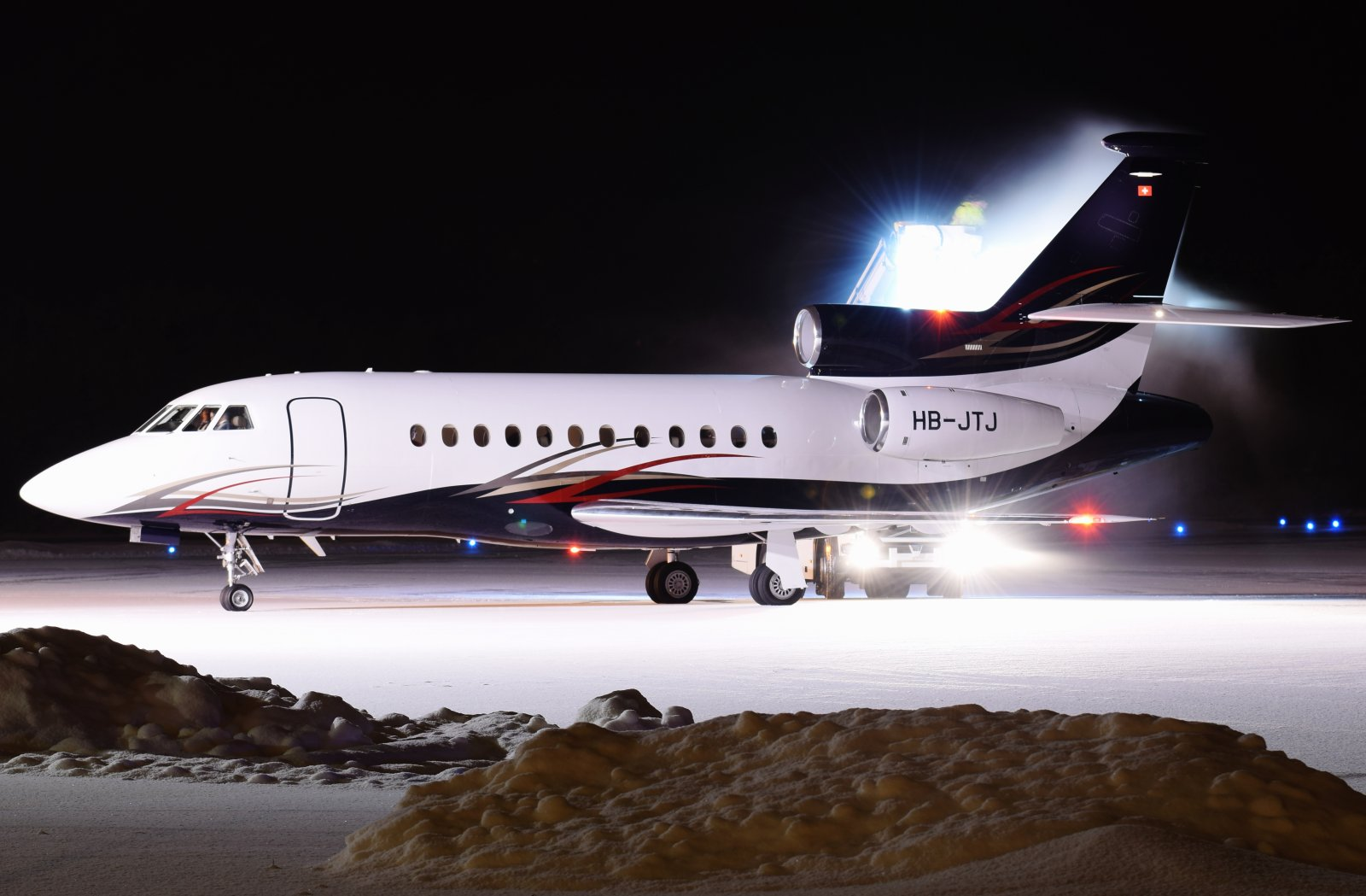 HB-JTJ - Dassault Falcon 900EX - 22.1.2019
