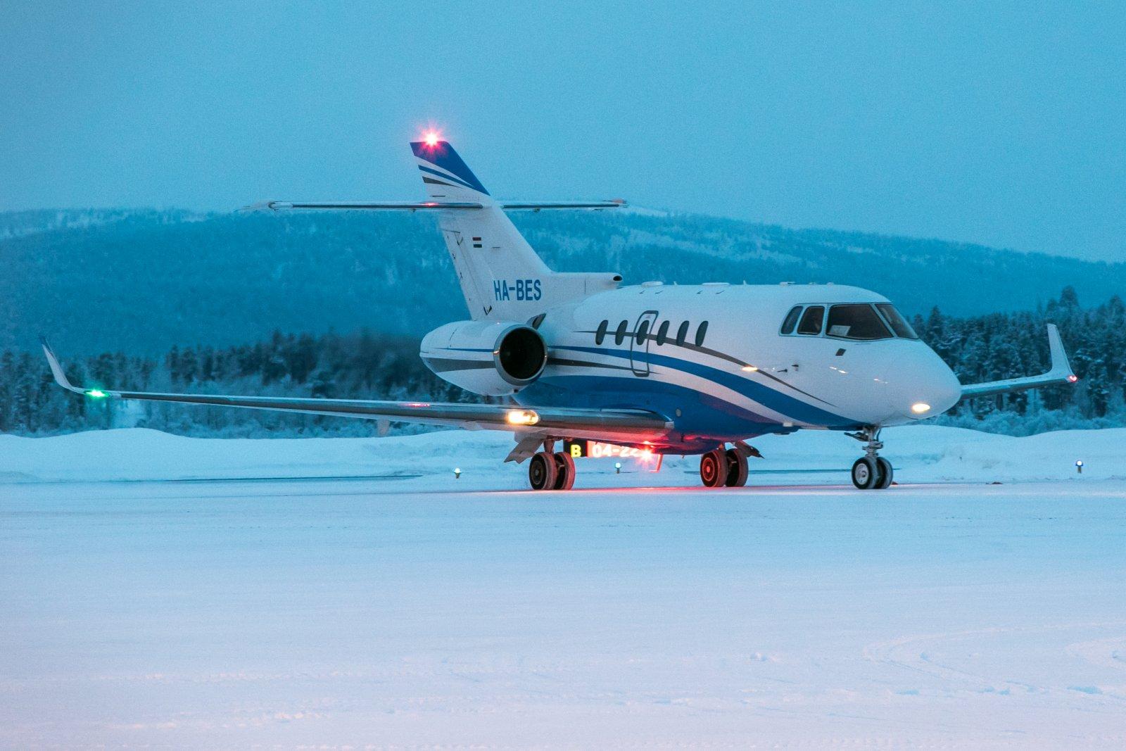 HA-BES. Hawker 800XP 18.1.2019